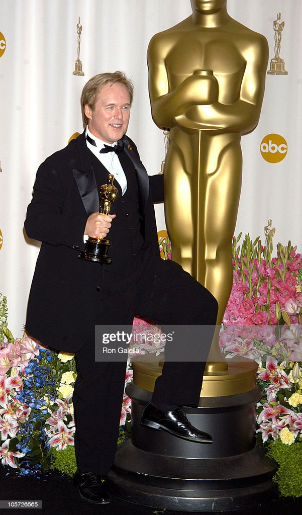 Brad Bird, winner Best Animated Feature for 'The Incredibles'