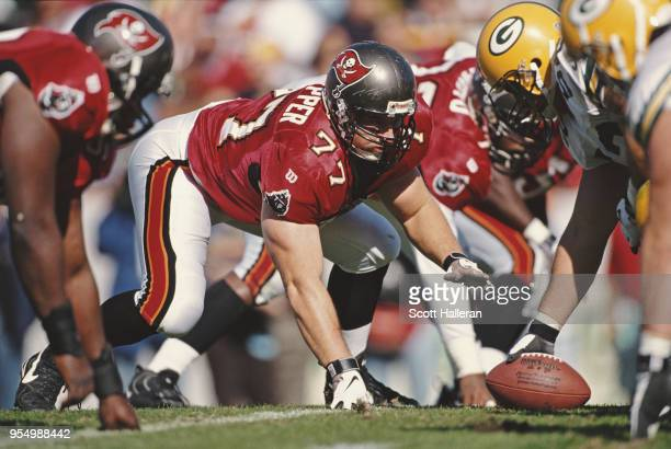 Brad Culpepper Defensive Tackle for the Tampa Bay Buccaneers during the National Football Conference Central game against the Arizona Cardinals on 28...