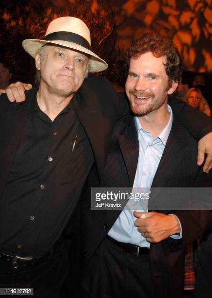 Brad Dourif and Sean Bridges during Deadwood Season Premiere After Party in Los Angeles California United States
