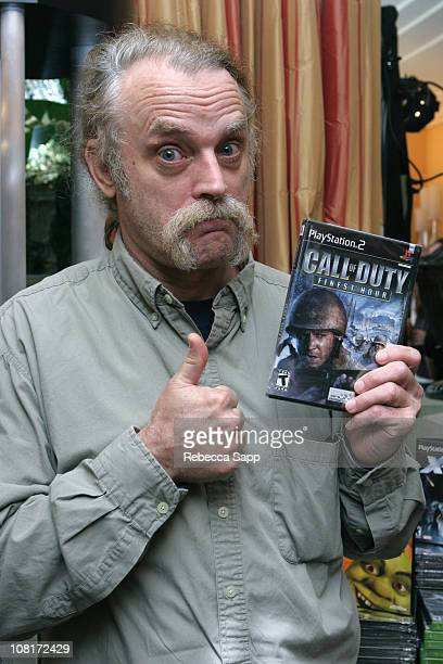 Brad Dourif at Activision during HBO Luxury Lounge - Day 1 at Peninsula Hotel in Beverly Hills, California, United States.