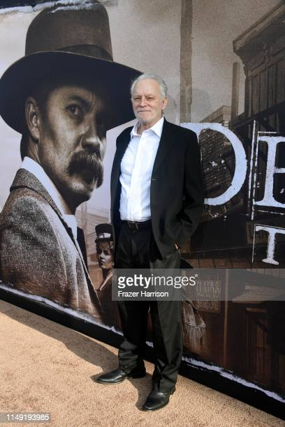 Brad Dourif attends the LA Premiere Of HBO's Deadwood at The Cinerama Dome on May 14 2019 in Los Angeles California