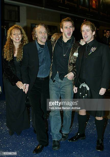 Brad Dourif Dominic Monaghan Billy Boyd during The Lord of the Rings The Two Towers Premiere Paris at Grand Rex Theater in Paris France
