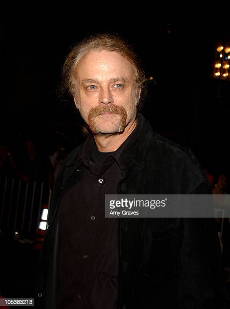Brad Dourif voice of Chucky during Seed of Chucky Los Angeles Premiere Red Carpet at The Grove in Los Angeles California United States