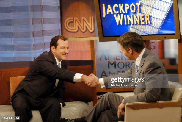 Brad Duke Powerball Winner and Bill Hemmer on 'American Morning'