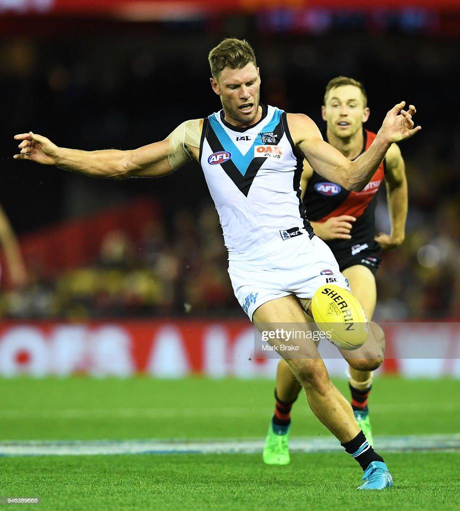 Brad Ebert of Port Adelaide during the ...