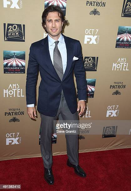 Brad Falchuk arrives at the Premiere Screening Of FX's 'American Horror Story Hotel' at Regal Cinemas LA Live on October 3 2015 in Los Angeles...