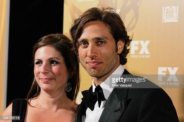 Brad Falchuk attends the Fox's 62nd annual Emmy award nominees celebration at Cicada on August 29 2010 in Los Angeles California