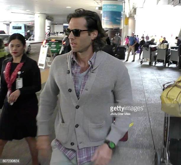 Brad Falchuk is seen on January 27 2016 Los Angeles CA