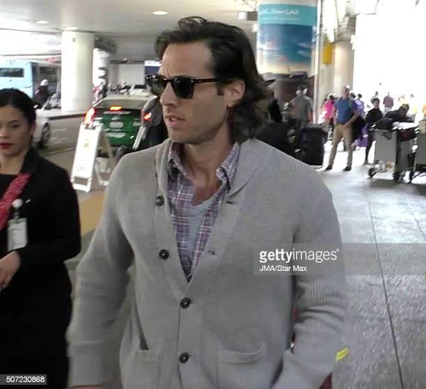 Brad Falchuk is seen on January 27 2016 Los Angeles CA