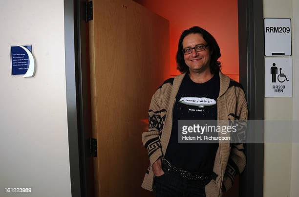 Brad Feld Managing Director of Foundry Group in Boulder paid CU $25000 to sponsor a bathroom He stands in front of the bathroom in the ATLAS building...