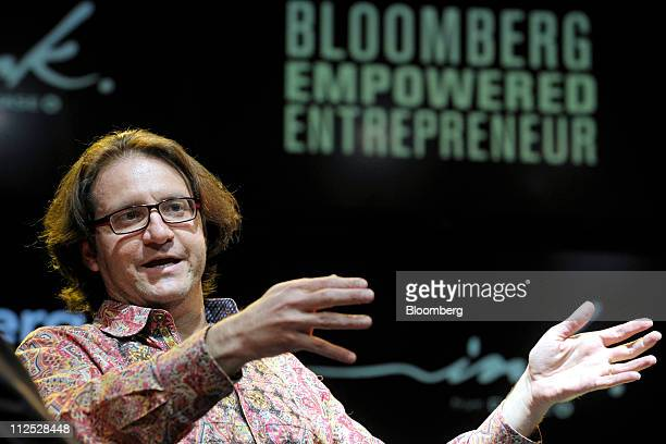 Brad Feld managing director of Foundry Group LLC speaks at Bloomberg Link Empowered Entrepreneur Summit in New York US on Thursday April 14 2011 The...