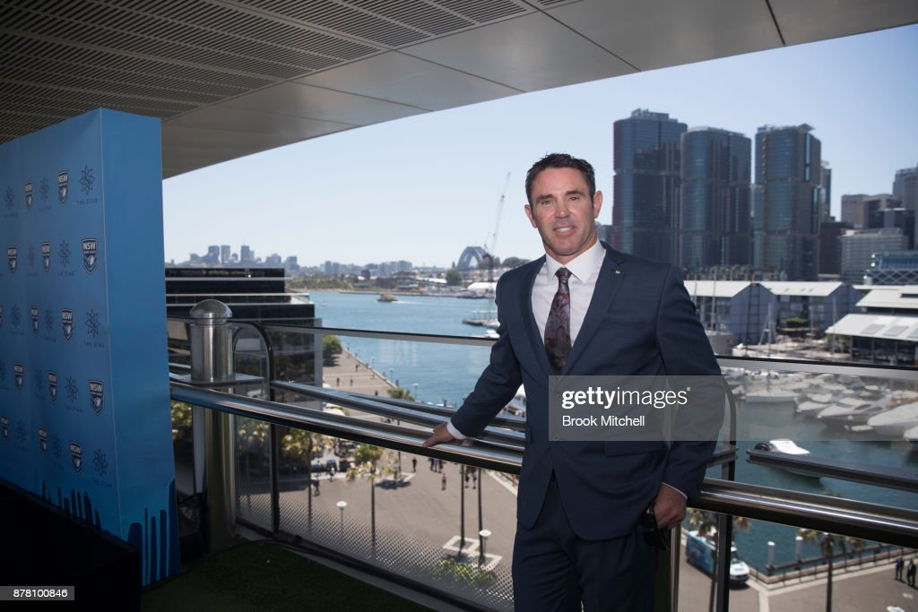 Brad Fittler poses during a press conference at the Star announcing his new role as coach of the New South Wales State of Origin team on November 24, 2017 in Sydney, Australia.