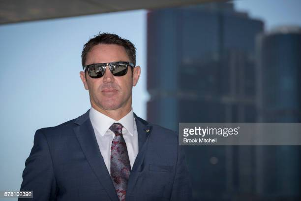 Brad Fittler speaks to the media during a press conference at the Star announcing his new role as coach of the New South Wales State of Origin team...
