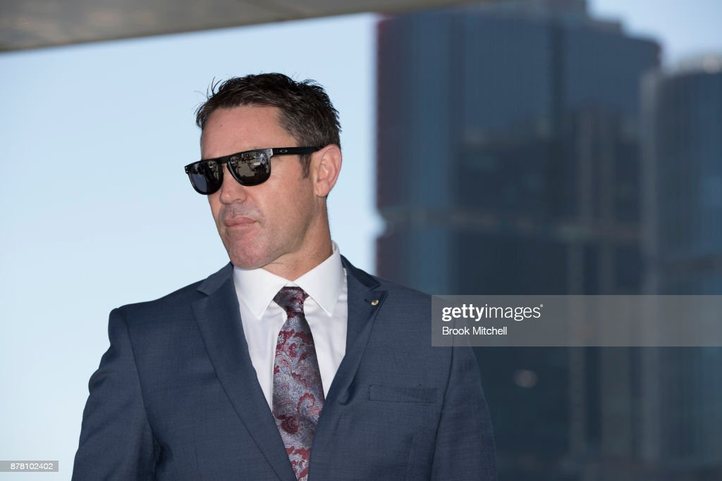 Brad Fittler speaks to the media during a press conference at the Star announcing his new role as coach of the New South Wales State of Origin team on November 24, 2017 in Sydney, Australia.