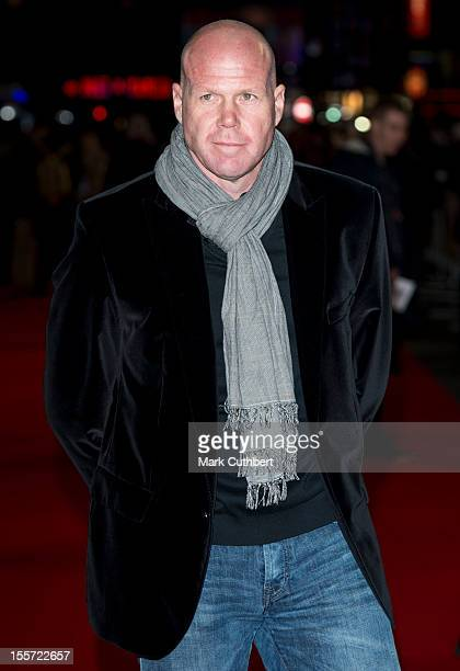 """Brad Friedel attends the World Premiere of """"Gambit"""" at Empire Leicester Square on November 7, 2012 in London, England."""