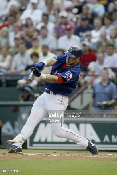 Brad Fullmer Texas Rangers DH breaks up Miguel Batista's shut out with a 7th inning solo home run Texas Rangers sweep Toronto Blue Jays with a 75...