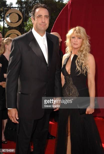 Brad Garrett and Jill Diven