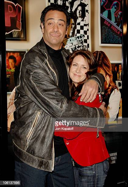 Brad Garrett and Joely Fisher during Music and Lyrics Los Angeles Premiere Arrivals at Grauman's Chinese Theatre in Hollywood California United States