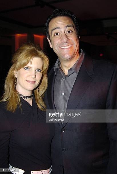 Brad Garrett and wife during 'Everybody Loves Raymond ' Wrap Party January 23 United States