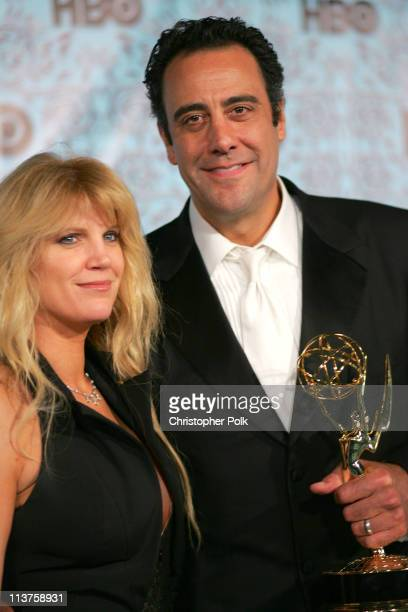 Brad Garrett and wife Jill Diven during 57th Annual Primetime Emmy Awards HBO After Party at Pacific Design Center in West Hollywood California...
