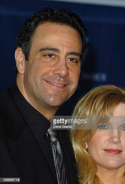Brad Garrett and wife Jill Diven during The 32nd Annual People's Choice Awards Arrivals at Shrine Auditorium in Los Angeles California United States