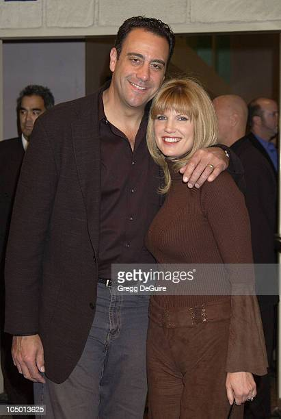 Brad Garrett and wife Jill Diven during The 4th Tenor Premiere at Mann Festival Theatre in Westwood California United States