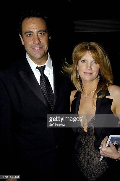 Brad Garrett and wife Jill Diven during The 56th Annual Primetime Emmy Awards Governors Ball at The Shrine Auditorium in Los Angeles California...