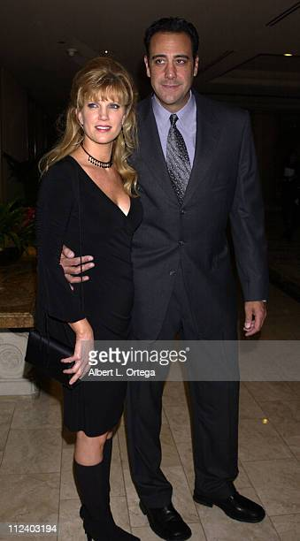 Brad Garrett and wife Jill Diven during Wish Night 2002 Gala Honoring Halle Berry by The MakeAWish Foundation at The St Regis Hotel in Century City...