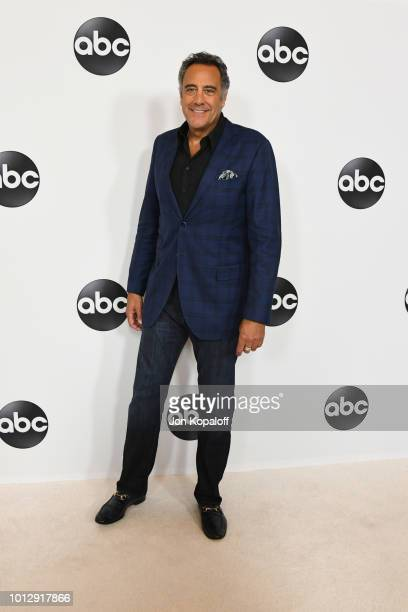 Brad Garrett attends the Disney ABC Television TCA Summer Press Tour at The Beverly Hilton Hotel on August 7 2018 in Beverly Hills California
