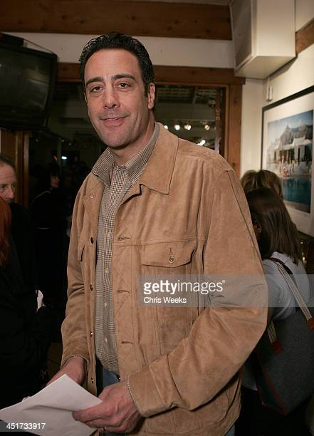 Brad Garrett during Photographer's Gallery Presents Slim Aarons Curated by Kate Spade at Fred Segal Cafe in West Hollywood California United States