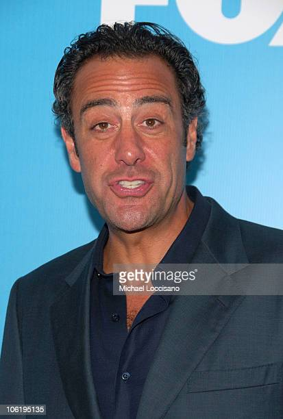 Brad Garrett during The 2007/2008 Fox Upfronts Arrivals at Wollman Rink Central Park in New York City New York United States