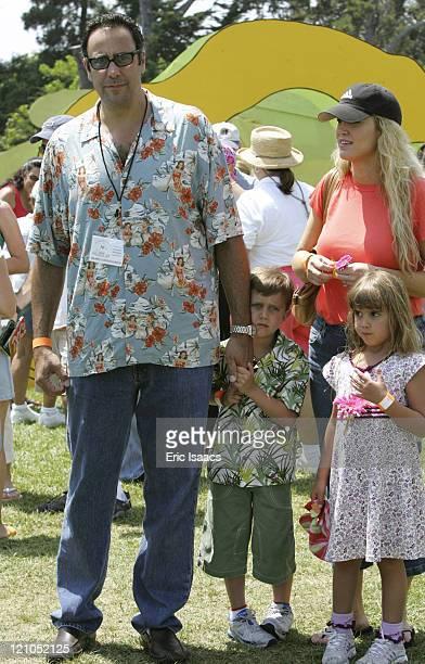 Brad Garrett Jill Garrett with their childen Max and Hope