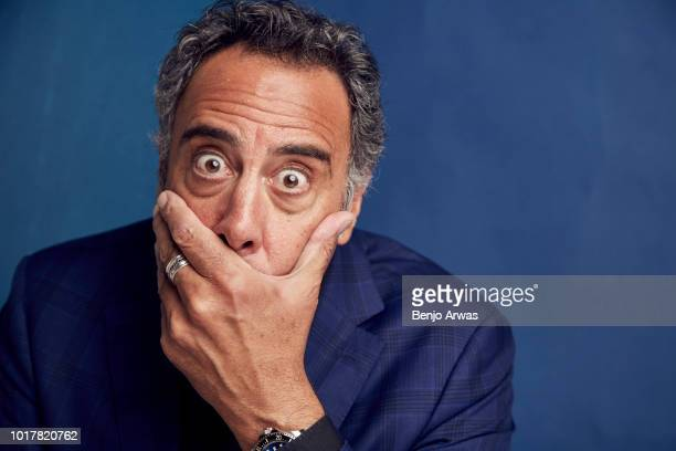 Brad Garrett of ABC's 'Single Parents' poses for a portrait during the 2018 Summer Television Critics Association Press Tour at The Beverly Hilton...