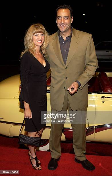 Brad Garrett wife Jill Diven during ATAS Daily Variety Honor The 54th Annual Primetime Emmy Awards Nominees at Spago in Beverly Hills California...