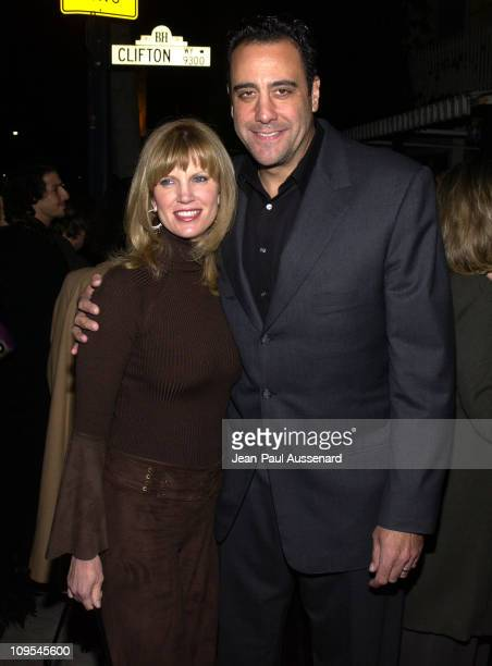 Brad Garrett wife Jill during Benefit Performance of 'The Syringa Tree' To Support Edgemar Center For the Arts at Canon Theatre in Beverly Hills...