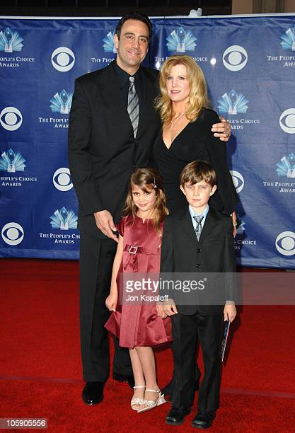 Brad Garrett with wife Jill Diven daughter Hope Garrett and son Maxwell Bradley Garrett