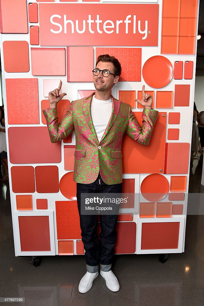 Shutterfly By Design Hosted By Brad Goreski : News Photo