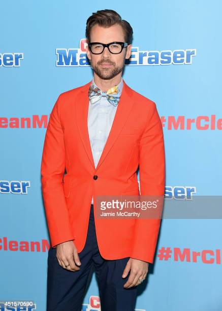 Brad Goreski attends the Mr Clean Summer Fashion Party at Root Drive In on July 1 2014 in New York City