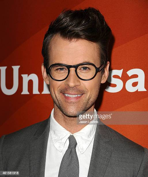 Brad Goreski attends the NBCUniversal 2015 press tour at The Langham Huntington Hotel and Spa on January 15 2015 in Pasadena California