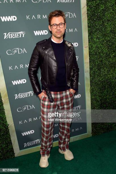Brad Goreski attends the Runway To Red Carpet hosted by Council of Fashion Designers of America Variety and WWD at Chateau Marmont on February 20...