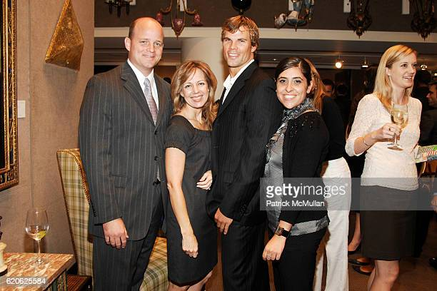 Brad Grant Mary Ellen Winslow Parker Knight and Gina Duff attend ELLE DECOR CHRISTIE's Launch of THE CELERIE KEMBLE COLLECTION for SCHUMACHER with...