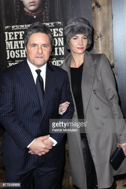 Brad Grey and Cassandra Huysentruyt attend The New York Premiere of TRUE GRIT at Ziegfeld Theatre on December 14 2010 in New York City