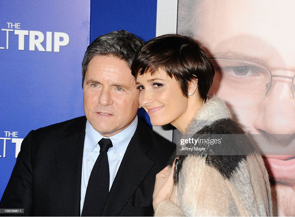 Brad Grey and Cassandra Huysentruyt Grey arrive at the 'The Guilt Trip' - Los Angeles Premiere at Regency Village Theatre on December 11, 2012 in Westwood, California.