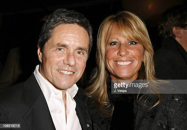 Brad Grey and Cynthia Pett Dante during Endeavor 2006 PreOscar Party in Los Angeles California United States