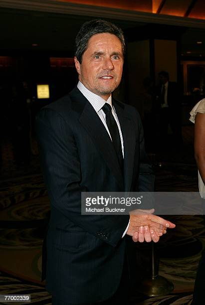 Brad Grey chairman and CEO of Paramount Pictures arrives at the National Multiple Sclerosis Society's Dinner of Champions at the Hyatt Regency...