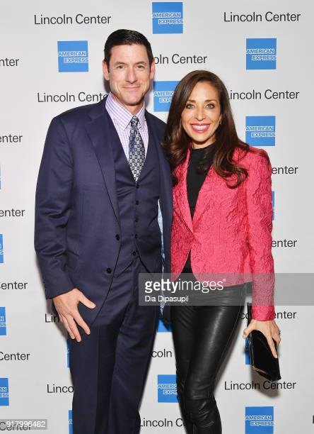 Brad Gruber and Jennifer Gruber attend the Winter Gala at Lincoln Center at Alice Tully Hall on February 13 2018 in New York City
