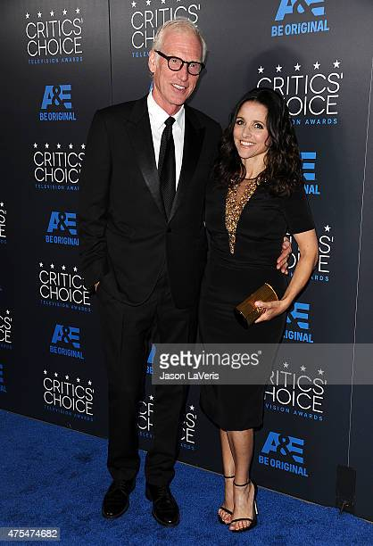 Brad Hall and Julia LouisDreyfus attend the 5th annual Critics' Choice Television Awards at The Beverly Hilton Hotel on May 31 2015 in Beverly Hills...