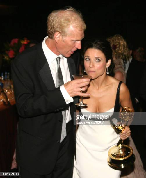 "Brad Hall and Julia LouisDreyfus winner Outstanding Lead Actress in a Comedy Series for ""The New Adventures of Old Christine"""