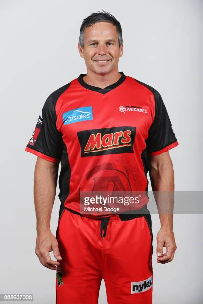 Brad Hodge during the Melbourne Renegades BBL headshots session on December 9 2017 in Melbourne Australia