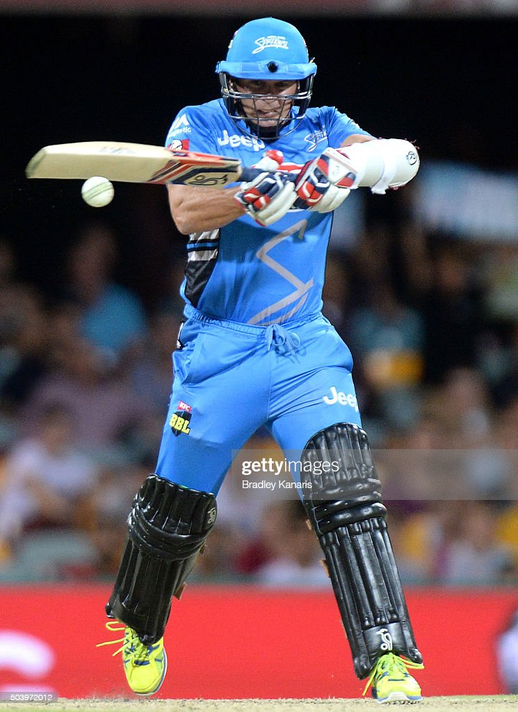 Big Bash League - Brisbane Heat v Adelaide Strikers